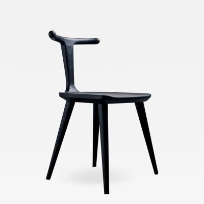 Fernweh Woodworking OXBEND CHAIR CHARCOAL ASH