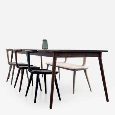 Fernweh Woodworking THE DINING TABLE WALNUT