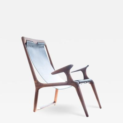Fernweh Woodworking THE SLING CHAIR WALNUT LEATHER