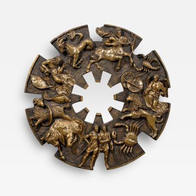 Finesse Originals Dramatic Brutalist Zodiac Mirror
