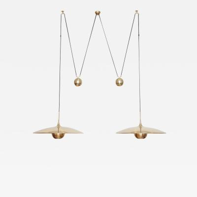 Florian Schulz Florian Schulz Double Onos 55 Pendant Lamp with Side Counter Weights