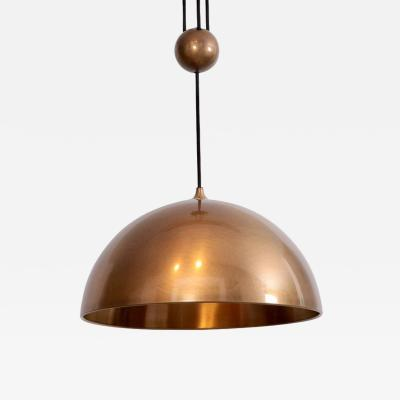 Florian Schulz Florian Schulz Posa Centerweight Pendant Light in Brass Germany