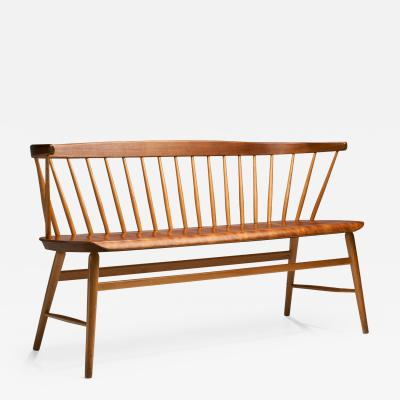 Florida Bench by Ebbe Wigell for AB Br derna Wigells Stolfabrik Sweden 1950s
