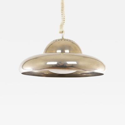 Flos Nickel Fior di Loto pendant by Afra and Tobia Scarpa for Flos 1960s