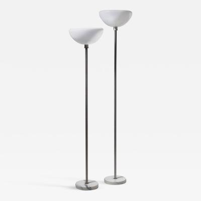 Flos Pair of Papavero Floor Lamps by Castiglioni for Flos