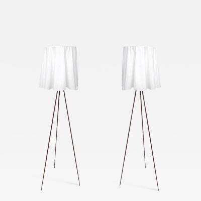 Flos Rosy Angelis Floor Lamps by Philippe Starck for Flos a Pair