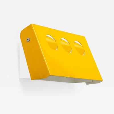 Fog M rup Danish Yellow Tole Sconce Denmark 1950 60