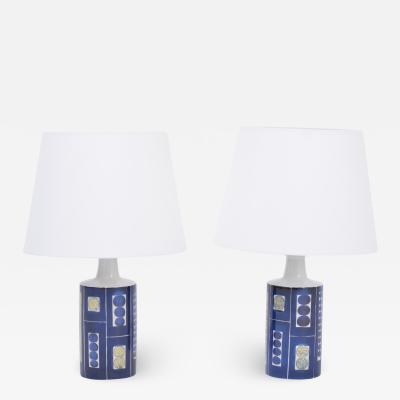 Fog M rup Pair of Royal 9 Tenera Table Lamps by Inge Lise Koefoed for Fog M rup