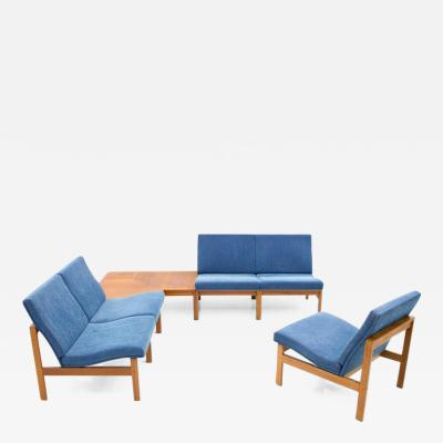 France Son Torben Lind Modular Seating Group with Corner Table France Son 1965
