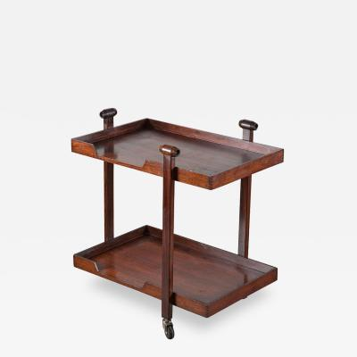 Franco Albini Franca Helg Bar Cart Model CR20 by Franco Albini and Franca Helg for Poggi