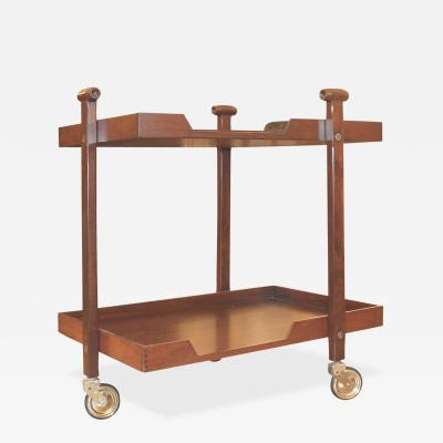 Franco Albini and Franca Helg Franco Albini and Franca Helg Bar Cart for Poggi Italy 1950s
