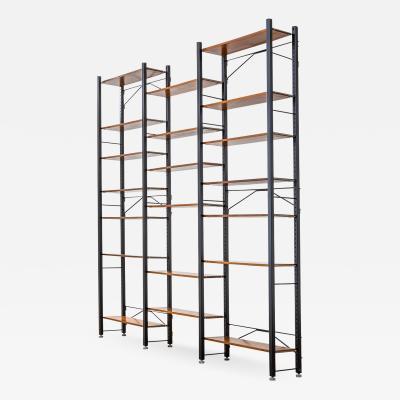 Franco Campo Carlo Graffi Campo Graffi Bookcase in metal and wood for Home