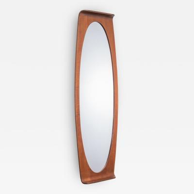 Franco Campo Carlo Graffi Franco Campo Carlo Graffi Mirror in Bent Plywood Italy