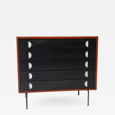 Franco Campo Carlo Graffi Small Chest of Drawers in Patinated Wood