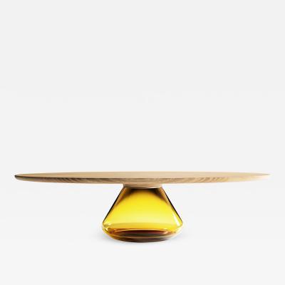 GRZEGORZ MAJKA LTD Amber Eclipse Contemporary Coffee Table