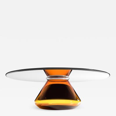 GRZEGORZ MAJKA LTD Amber Eclipse II Contemporary Coffee Table