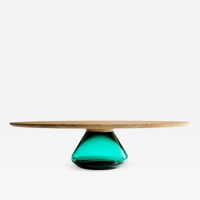 GRZEGORZ MAJKA LTD Emerald Eclipse Contemporary Coffee Table