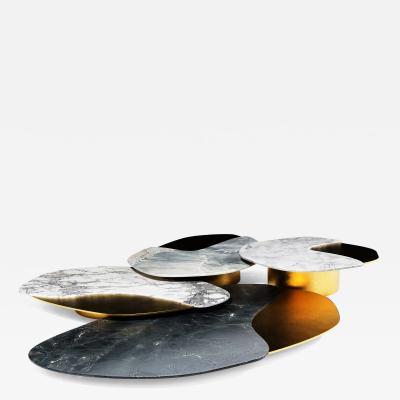 GRZEGORZ MAJKA LTD Epicure I Contemporary Center Table Set of 4 Items
