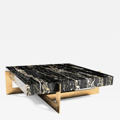 GRZEGORZ MAJKA LTD Golden Rock II Marble Coffee Table