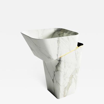 GRZEGORZ MAJKA LTD Louis Blanc Modern Handcrafted Washbasin