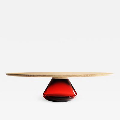 GRZEGORZ MAJKA LTD Ruby Eclipse Contemporary Coffee Table