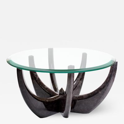 GRZEGORZ MAJKA LTD The Diamond Tulip Marble Coffee Table by Grzegorz Majka