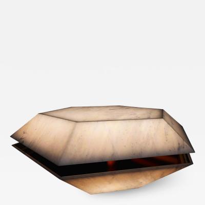 GRZEGORZ MAJKA LTD The Shell Translucent Marble Coffee Table by Grzegorz Majka