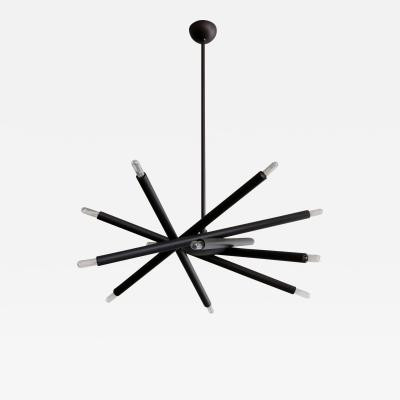 Gallery L7 Spiral ML 6 Orb Chandelier
