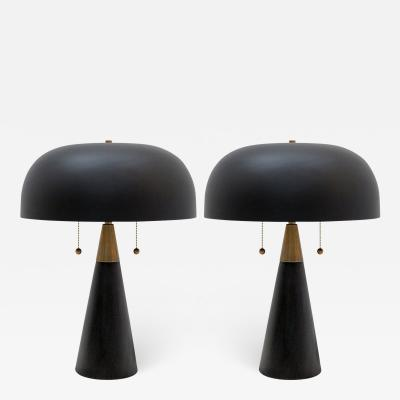 Gallery L7 Workshop Pair of Alvaro Table Lamps