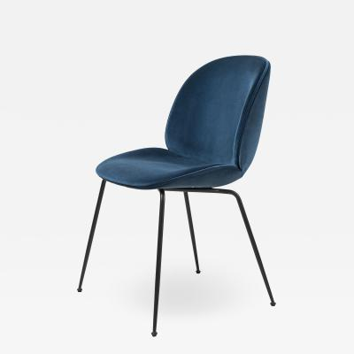 GamFratesi Design Studio GamFratesi Beetle Dining Chair in Blue with Conic Base