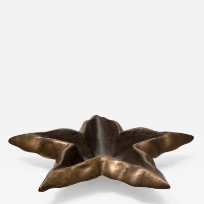 Garouste Bonetti Bronze Star Bowl by Garouste et Bonetti