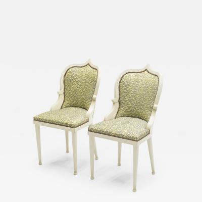 Garouste Bonetti Extremely rare set of 10 Garouste Bonetti Palace dining chairs 1980