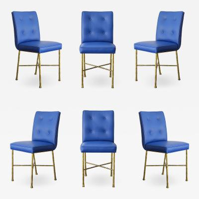 Garouste Bonetti Garouste Bonetti Chairs Rare Set of 6 Chairs