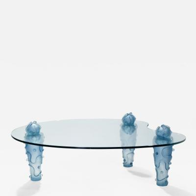 Garouste Bonetti Large signed coffee table by Garouste Bonetti 1990s