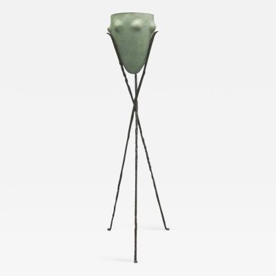 Garouste Bonetti Rare French New Barbarians Floor Lamp or Sculpture by Garouste Bonetti 1980