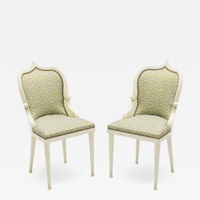 Garouste Bonetti Rare set of four Garouste Bonetti Palace dining chairs 1980