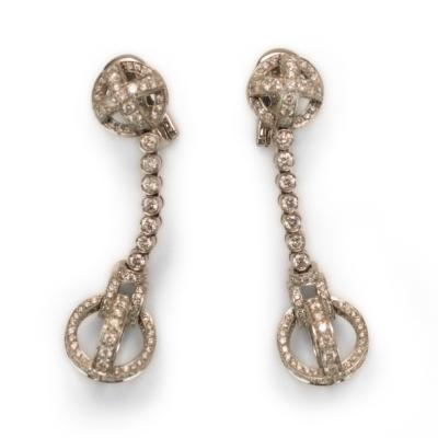 Garrard Co Garrard Diamond Earrings