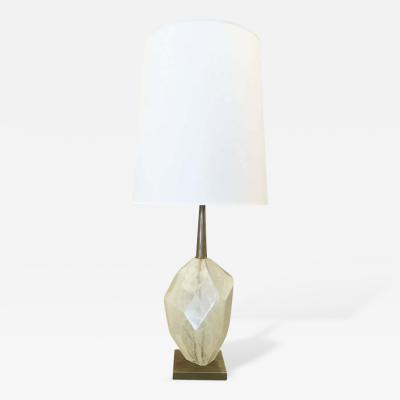 Gaspare Asaro Limited Edition Glass Crystal Table Lamp by Gaspare Asaro Studio Short Version