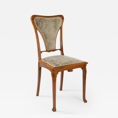 Gauthier Poinsignon French Art Nouveau Chair by Gauthier