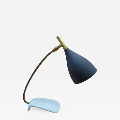 Gebr der Cosack Original modernist 1960s metal Table light made by Cosack Germany 1970s