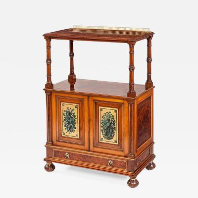 Gillows of Lancaster London English 19th Century Cabinet by Gillows of Lancaster