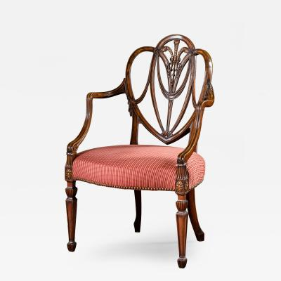 Gillows of Lancaster London George III Mahogany Armchair