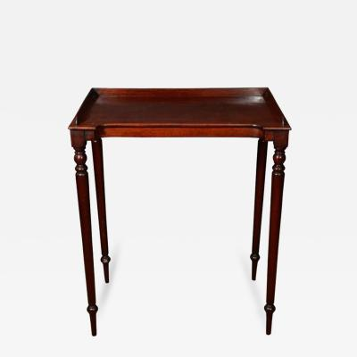 Gillows of Lancaster London William IV Mahogany Wash Stand in the Manner of Gillows Early 19th Century