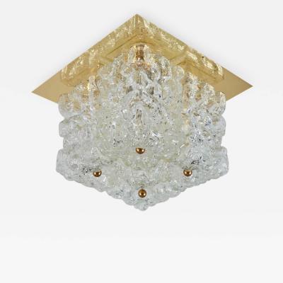 Glash tte Limburg Limburg Ice Glass Flush Mount