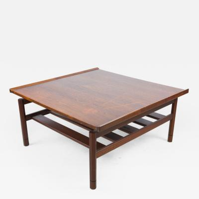 Glenn of California Floating Two Tier Walnut Coffee Table