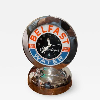 Glo Dial Belfast Glo Dial Sparkling Water Neon Table Clock