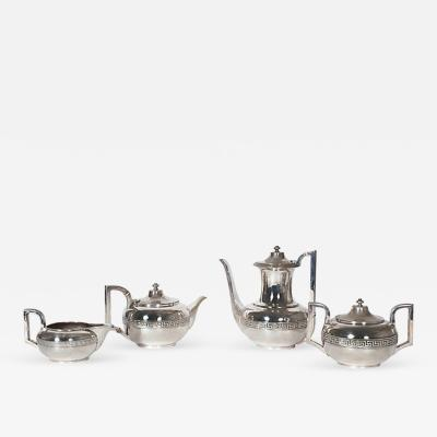 Gorham Manufacturing Co A Four Piece Gorham Silver Plated Tea Coffee Set