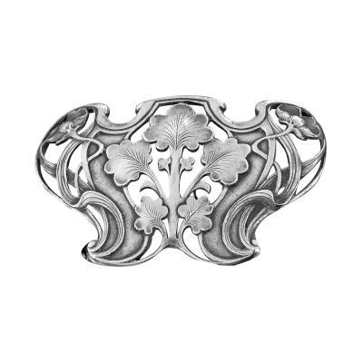 Gorham Manufacturing Co Gorham Art Nouveau Sterling Buckle 1902