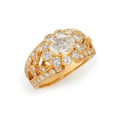 Graff Graff oval diamond ring