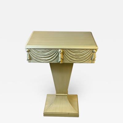 Grosfeld House DRAPERY AND TASSEL TABLE BY GROSFELD HOUSE